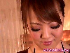 Busty japanese milf breast fucking