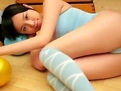 Celia from 1fuckdate.com - Asian nubile cameltoe pure non nude