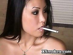 Smoking Hardcore Horny Whore