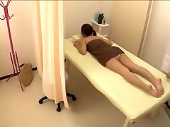 Cute petite Jap screwed in red-hot spy cam massage video