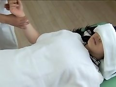 Gorgeous Jap gets pulverized in ultra-kinky spy cam massage clip