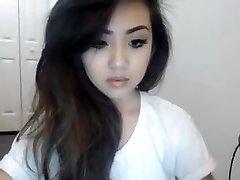 Korean girl web cam show