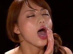 Amazing Japanese model Akiho Yoshizawa in Cool POV, Facial JAV scene