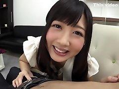 Hottest Japanese whore Hibiki Otsuki in Outstanding handjobs, tossing salad JAV clip