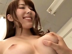Sexy teacher's bushy cunt getting fingered and toyed hard