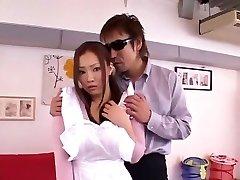Horny Japanese whore Rika Aiuchi in Wondrous  Blowjob, Sports JAV flick