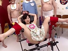 Crazy Japanese mega-bitch Maki Hoshikawa in Best domination & submission, masturbation JAV movie