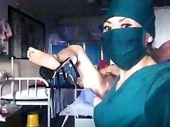 Chinese nurse fisting