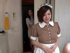 Wondrous  Oriental Maid in erotic hotel scene