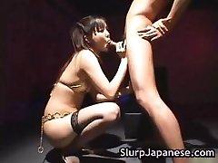 اليابانية الساخنة وقحة حواف رجل part5