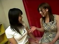 Japanese lesbo girls