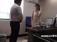 Korean porno HOT Korean Boss Lady
