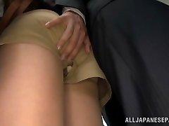 أكيهو يوشيزاوا الحصول مارس الجنس في المكتب