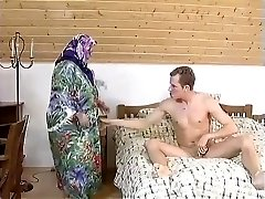 Ample BBW Grandma MAID FUCKED HARDLY IN THE ROOM