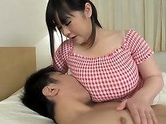 Hottest Asian girl in Incredible Big Tits, Handjob JAV video