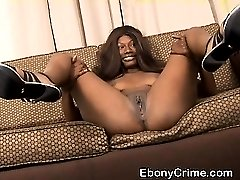 Dirty Black Slut Making Faces While Getting Pounded In Face