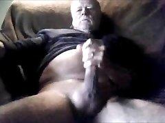 Grandpas man meat compilation on cam