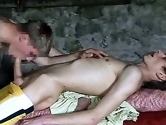 two nice cock young twinks in the boat house