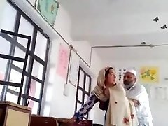 Desi head master nail urdu teacher school affair caught mms