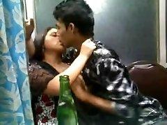 Indian Desi mind-blowing girl in churidar