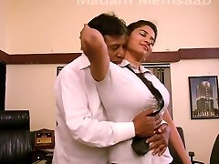 Desi College Nymph Romancing With Professor For Promotion - Big Titty Pressed Bgrade