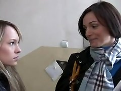 REAL: Making of a Legal Age Teenie Lesbo Porno Starlet - Part1 - Cireman