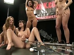 Bobbi Starr pounded by machines