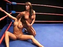 Brunette Wrestling Showdown