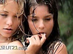 Stellar babysitters in the rain