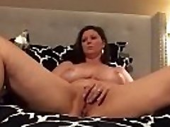 Sizzling Mom Gropes Clit Watching Lesbian Orgy and Has Multipule Orgasms
