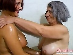 OmaHoteL Grannie and Mature are Frolicking Together