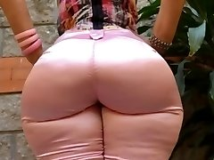 Milf Mature in tight jeans big ass backside mom enormous booty