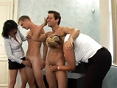 What is the Name of the Blonde Czech CFNM Lush MILF ?