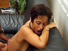 Red-hot mature ass-fuck with cum