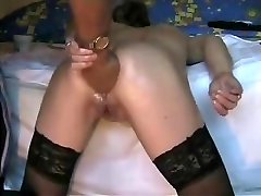 Deep ass fisting my ultra-kinky bitch. Fledgling extreme