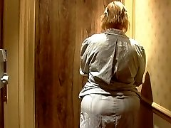 Mature french maid with Large butt