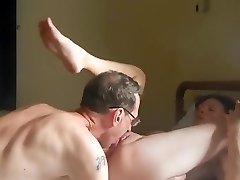 Private scene of amateur mature sex