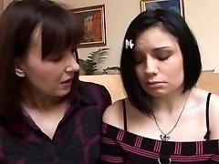 Step-Mum teaches daughter-in-law 01
