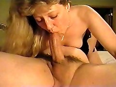 Debbie doing the Deep-throat (Mature)