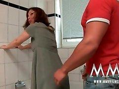 MMV Films Ginger-haired German Mature loves fuck-stick