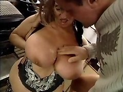 Gross GRANNY WITH Large BOOBS FUCKED  BY THE MECHANIC 1