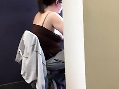 20yr old topless lush in the library