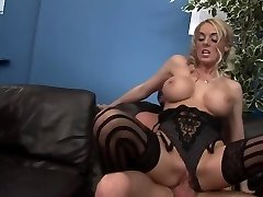 Nasty pornstars Antonia Deona and Dani Amour in beautiful group orgy, lingerie xxx clip