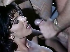 Anna Malle - Black-haired pounded in the Bar