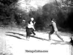 The Winner Fucks the Girl in the Backside (1920s Antique)