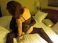 Classic brunette wife interacial cuckold