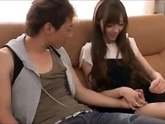 She is cute of violently enjoy couple in the early afternoon