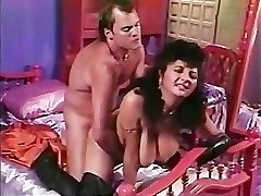 Paki Aunty is weary of Tiny Japanese Paki Dick so heads for Big Western Cock