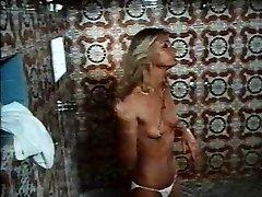 1970s vid Hard Erection bathroom sex scene
