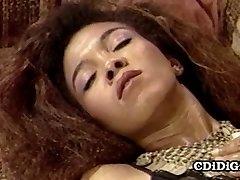 Whitney Cole - Skinny Black Mega-slut Riding White Man Meat